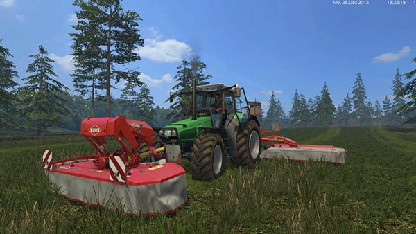 Kuhn FC313F and FC883