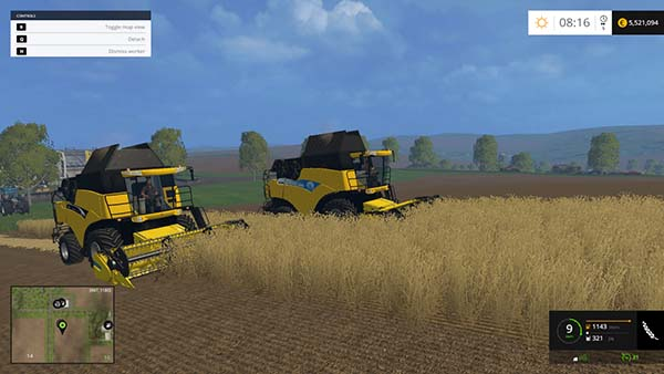 New Holland CR 9090 960 Pack