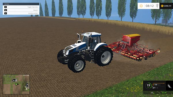 New Holland T8330