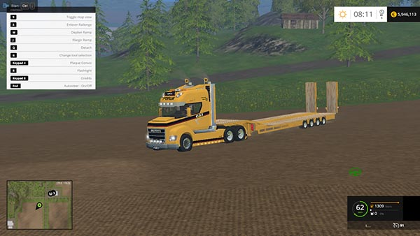 Scania Stax Goldhofer Pack