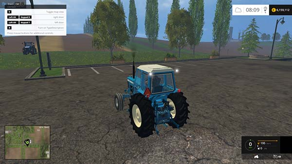 Ford TW 10