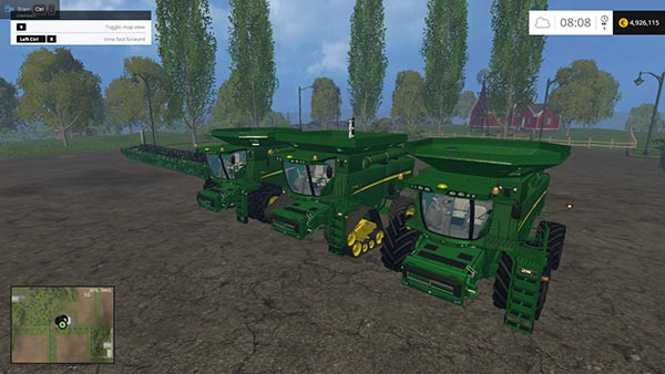 John Deere 690 Pack Wash