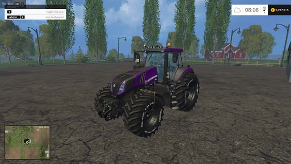 New Holland T8.420 PKM Edition