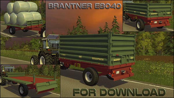 Brantner E8040 with superstructures