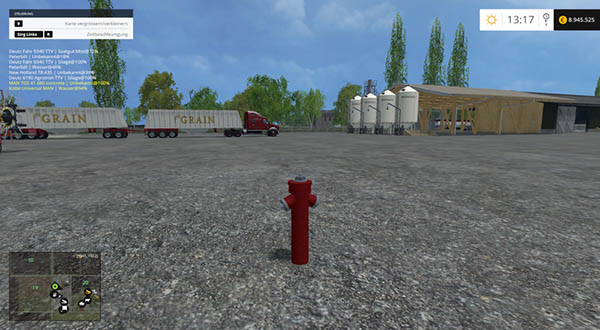 Hydrant with water trigger v 1.0 Placeable