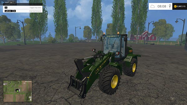 New Holland Loader W170C green