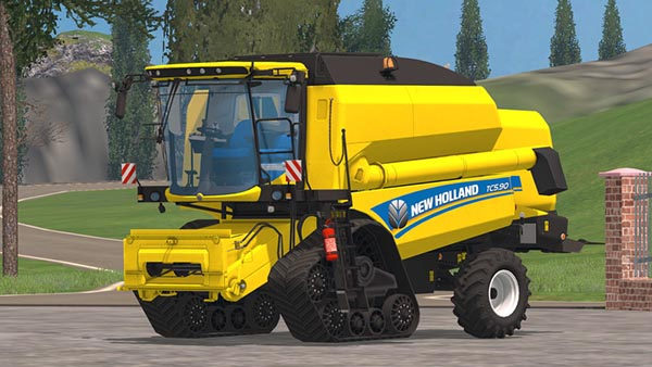 New Holland TC 5.90 ATI Wheels v 1.1
