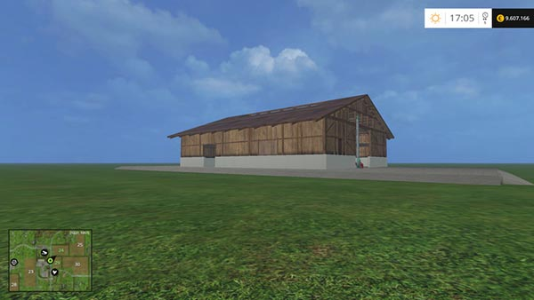 Shed with hay blower v 1.1