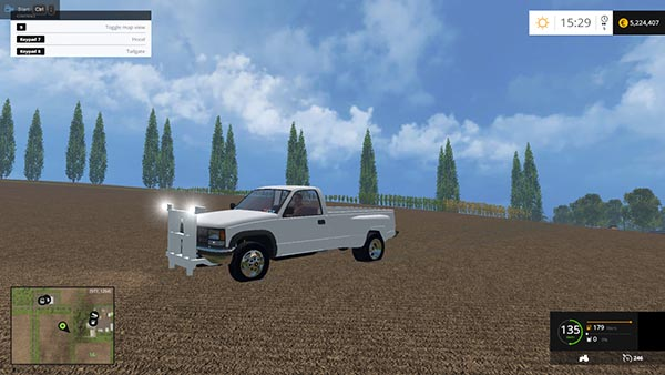 1994 CHEVY 3500 PLOW TRUCK