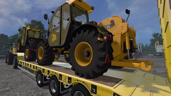JCB LOADALL 536 70 with Rear Hydraulics v 2.0