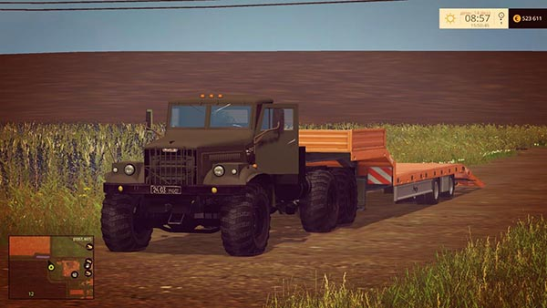 Kraz 255 and Trailer v 2.0