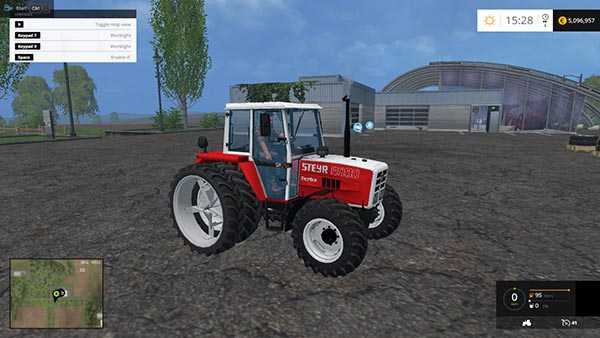 Twin tires for Steyr tractors