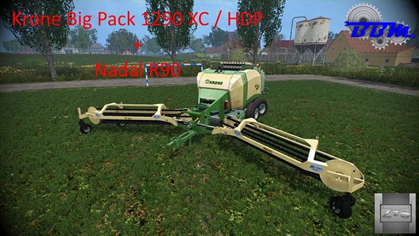 Krone Big Pack 1290 and Nadal R90