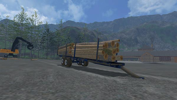 Log Trailer with Autoload