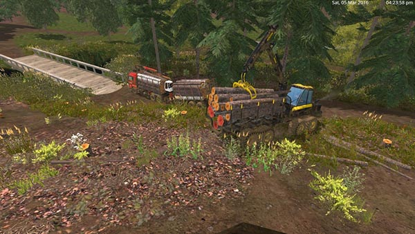 MAN TGS 33.440 Forestry Truck & Trailers