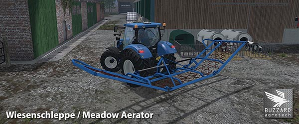 Meadow Aerator 2.8m 8.4m