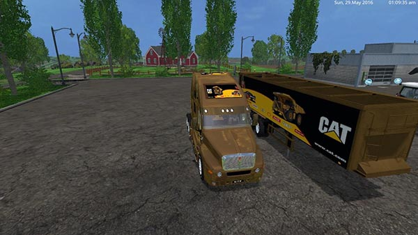 Cat Truck and Cat Semi Trailer v2.0