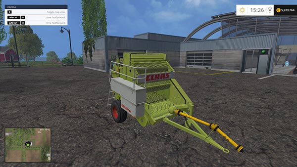 Claas Rollant 44s