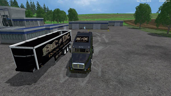 ACDC Cat Truck & ACDC Trailer v1.0