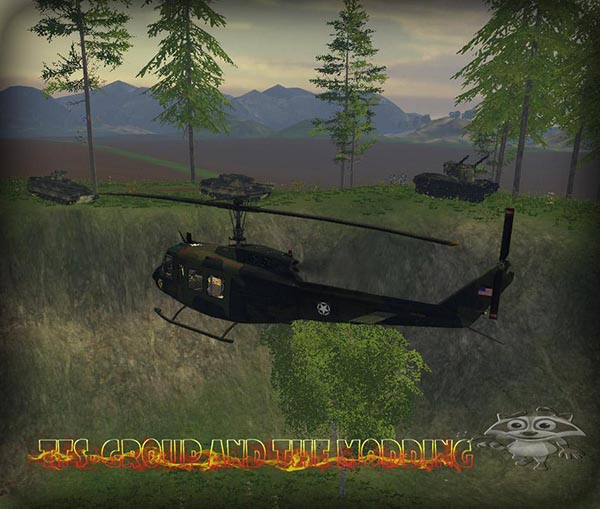 Bell UH1D US ARMY
