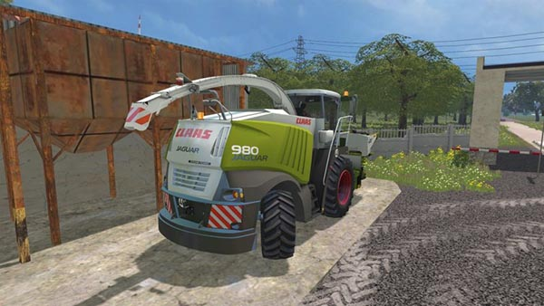 Claas Jaguar 980 Dynamic Power