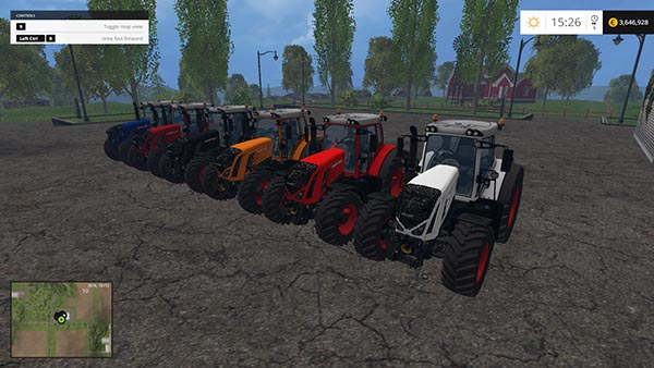 FENDT VARIO 936 and 939 EDIT