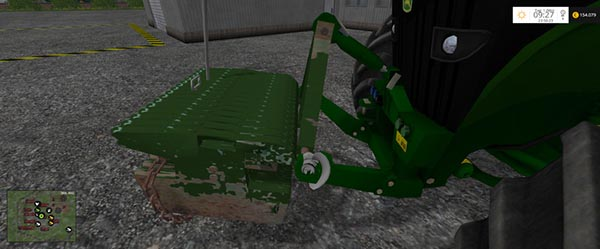 John Deere Weight