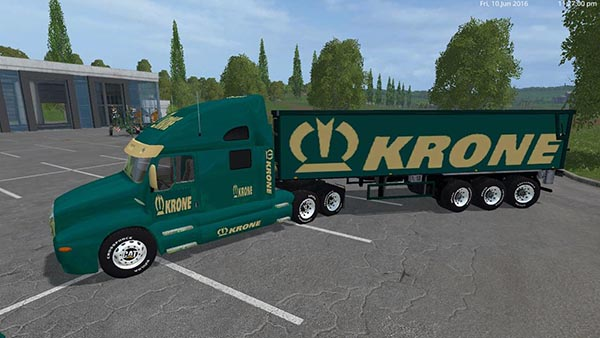 Krone Cat Truck and Krone Cat Semi Trailer
