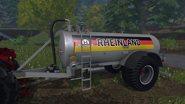 Rheinland Liquid manure Barrel