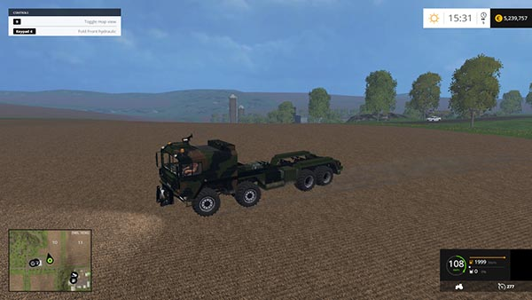 Road Train With Sweet Truck Wolf Edition