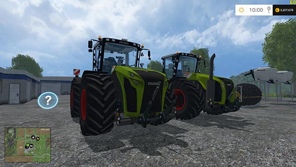 CLAAS XERION 5000 FINAL PACK v1.0