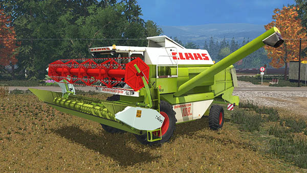 Claas Dominator 108SL Advanced