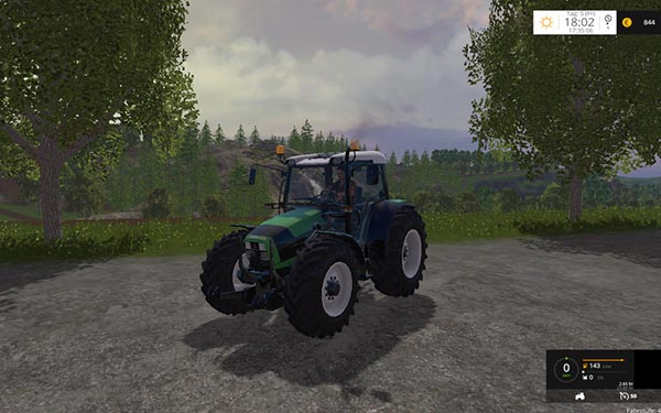 Deutz Fahr Agrofarm 430 with FL