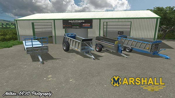Galvanized Marshall Mod Package v1.0