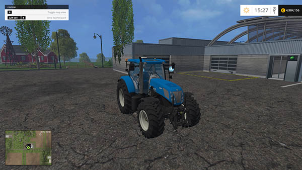 New Holland T7 310 BluePower brighter