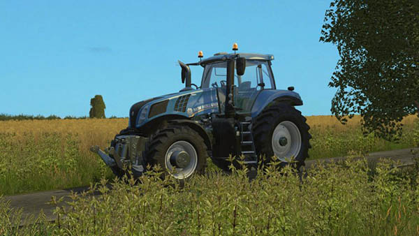New Holland T8.320 Real Engine
