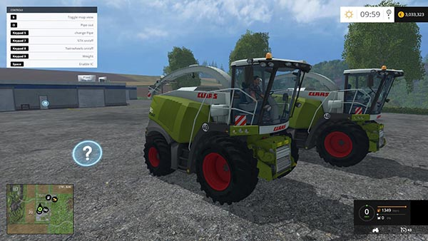 Claas Jaguar 980 Beast Pack v1.0