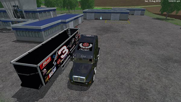 Dale Earnhart Cat Truck and Trailer V 1.0