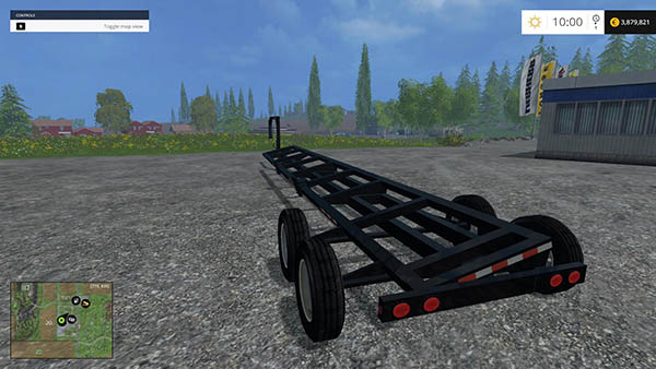 Gooseneck Header Trailer v2