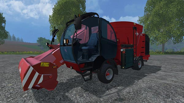 Kuhn SPV 12 with IC and extra Cams
