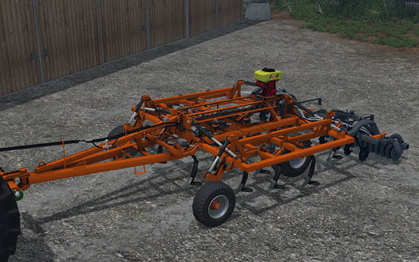 Laumetris trailed arrow type harrow cultivator SL-4T