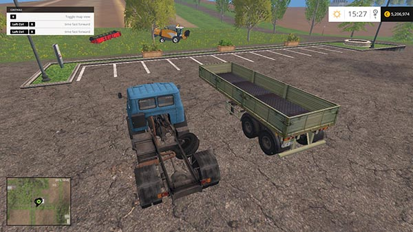 MAZ 509 AND TRAILER 9380