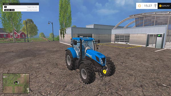NEW HOLLAND T7 170