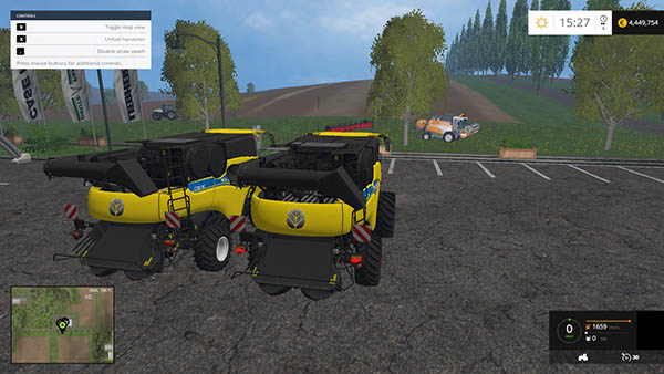 NEW Holland CR1090