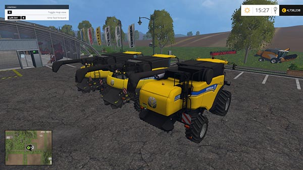 New Holland combine pack