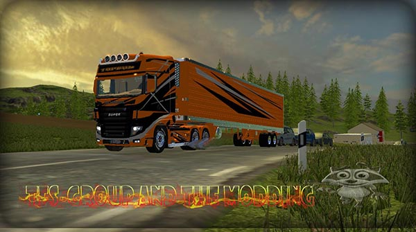 SCANIA TRAILER TOPRUN