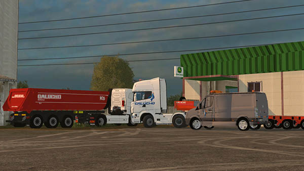 Galucho Transport Service Pack v 1.0