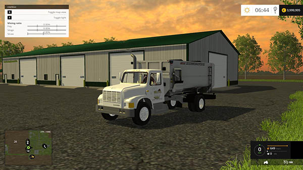 International feed truck v 1.0