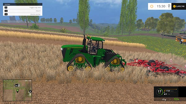John Deere 9620R and John Deere 9620RX