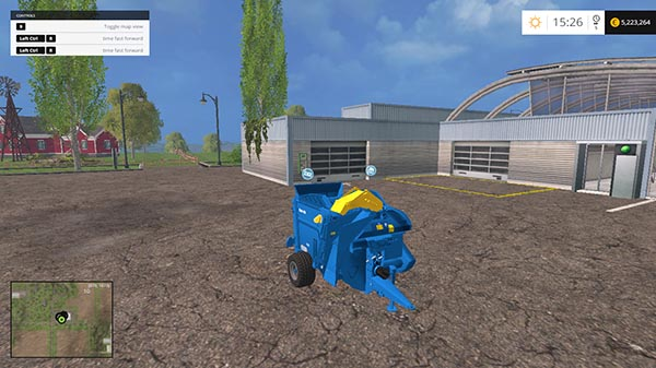 Kidd 450 Bale Shredder v 1.0